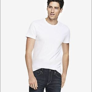 """NWT men's Express fitted tshirt. """"Time for Action"""""""